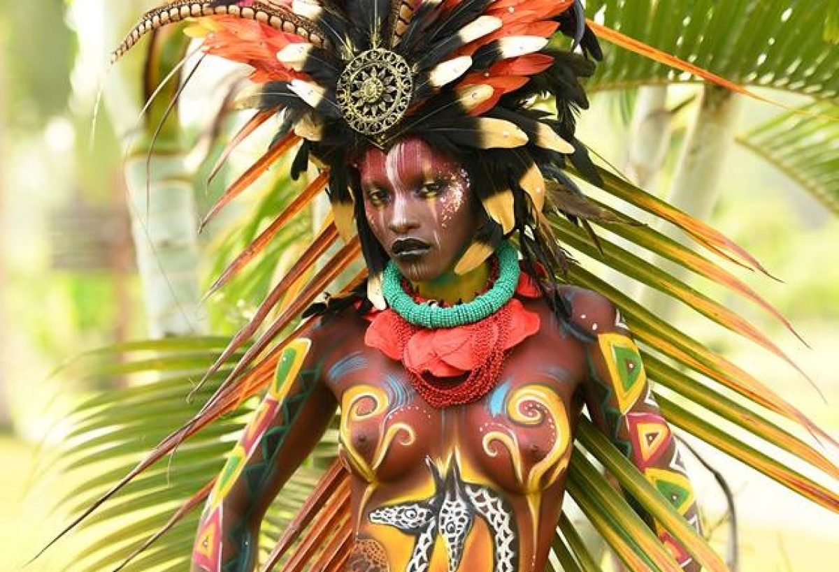 Art Meets Fashion At Equatorial Guinea Bodypainting Festival 2019 See The Eye Popping Photos Plugtimes Com